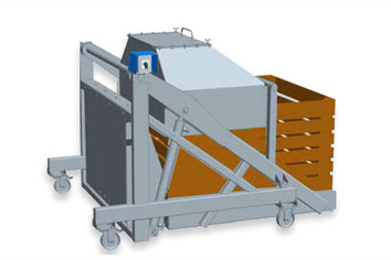 Оброкидыватель контейнеров, оборудование для соков Kreuzmayr