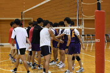 巻高校現役選手vs.OB交流戦