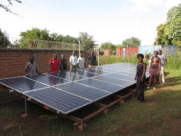 Hybrid-system for GIZ project in South Sudan (5 kWp)