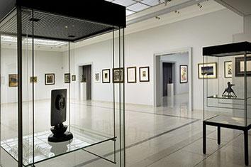La grande salle dans laquelle la Galerie a présenté des ventes aux enchères et des expositions jusqu'en 2016.
