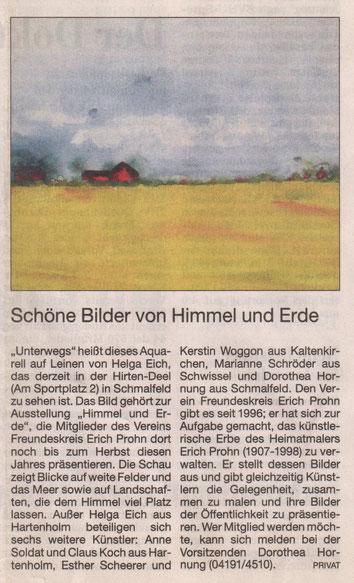 Segeberger Zeitung 12.05.2015