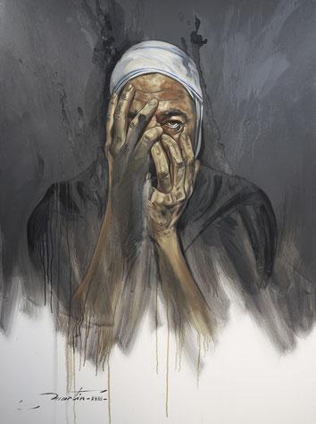 Le Réveil de la Conscience - Huile sur toile 130x97