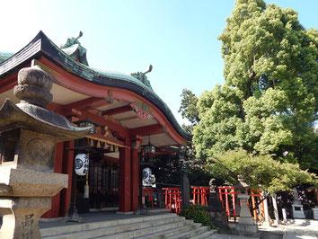 品川神社 御本社 拝殿