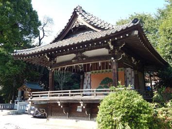 品川神社 神楽殿