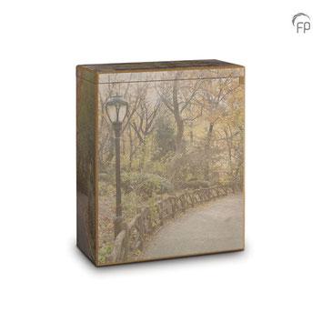 2.) Holz Streuurne für Tier bis 50 kg 60 €