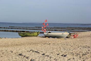 Fischerboote; Ahrenshoop