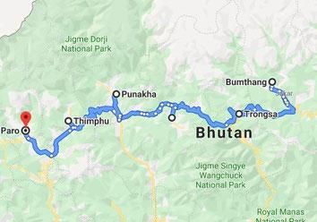 Rundreise 10 Tage Bhutan