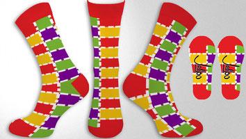 Sokken Ontwerpen met eigen logo