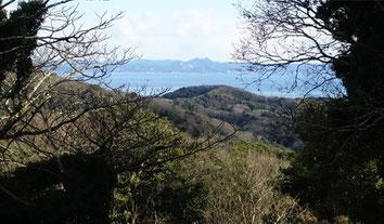 三浦富士と房総半島