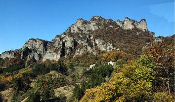 秋の妙義山(西上州)