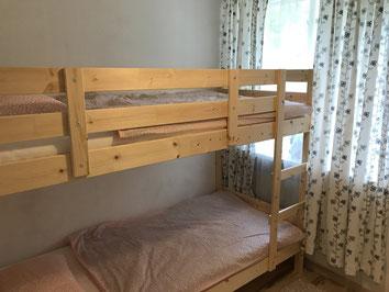 Zimmer 1 mit Stockbett