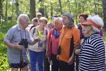 Kräuterwanderungen Langes Haus Altfriedland