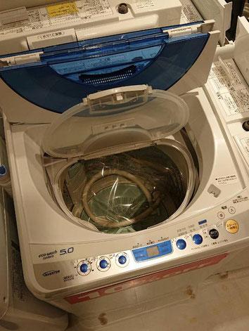 内蓋つき洗濯機