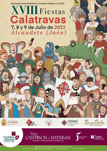 Programa de las Fiestas Calatravas en Alcaudete