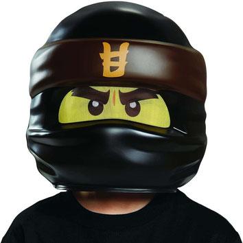Schwarze Ninjago Maske