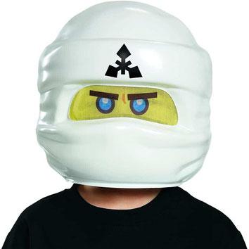 Weiße Ninjago Maske