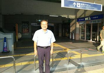 2018年9月19日、阪急三国北口