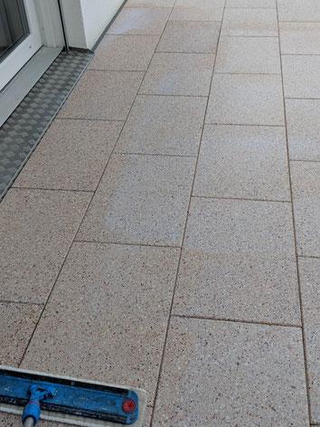 Stein, Fliesen, imprägnieren, Reinigung, Reinigung, Schutz und Pflege, Bürstreinigung, AM Boden GmbH,