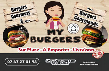 myburgers étudiant étudiants offre réduction hamburger burger burgers hamburgers maison raffiné meilleur centre sortir lille réduction hot dog