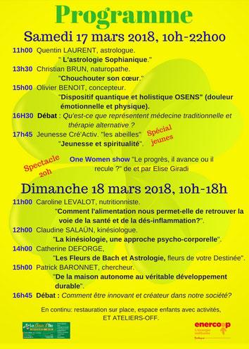 salon ethic'santé les 17 et 18 mars 2018 à saint-brieuc