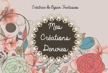 Collection Mes Créations Denvies - bijoux fantaisies - Bijouterie L'Or Ne Ment - Beaurepaire - Les Herbiers - Montaigu - La Roche Sur Yon
