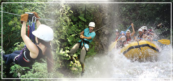 Rafting, Canyoning, Canopy
