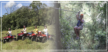 Ziplining & ATV  Arenal Tour and activities for one day
