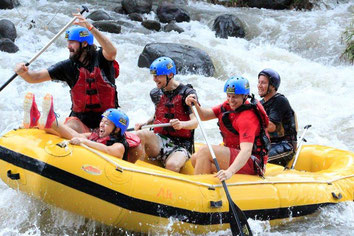 Arenal one day Combo Deal: Canyoning & Rafting