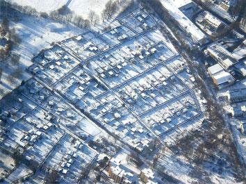 Luftbild des KGV Friederika