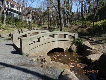 音無さくら緑地の桜橋  3月31日  馬耳南風