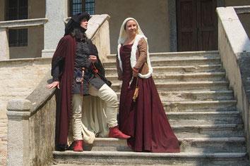 """Andreas & Christine als Kaufmannsfamilie """"von Fleethen"""""""