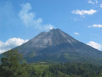Transporte desde La Fortuna al Volcán Arenal