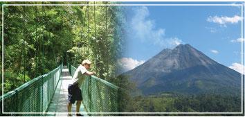 Combinados de un día en Volcán Arenal - La Fortuna