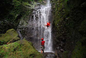 Waterfall Rappel Canyoning
