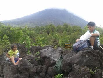 Transporte Colectivo al Parque Nacional Volcán Arenal
