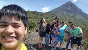 Arenal Combination one day tour:  Hanging bridges, Arenal Volcano Hike & La Fortuna Waterfall
