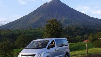 Transporte desde Aeropuertos hacia La Fortuna Volcán Arenal