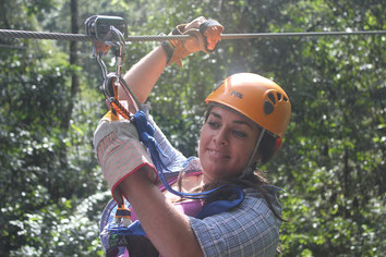 Canopy Tour families with kids