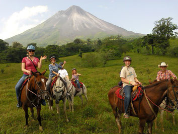 Arenal Volcano Horseback Riding & Los Lagos Hot Springs