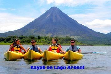 Combinado de un día:  Caballos, Kayak y Volcán Arenal