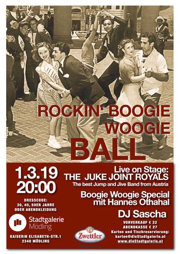 Boogieball Stadtgalerie Mödling