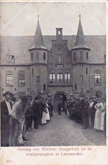 ansichtkaart Wiebren Hoogerhuis