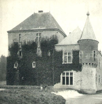 Le Donjon sous un autre angle, vers 1912