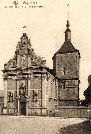 La Chapelle de N-D du Bon Conseil vers 1920