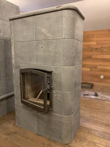 Nunnauuni Leila 2 tunnelhaard speksteenkachel