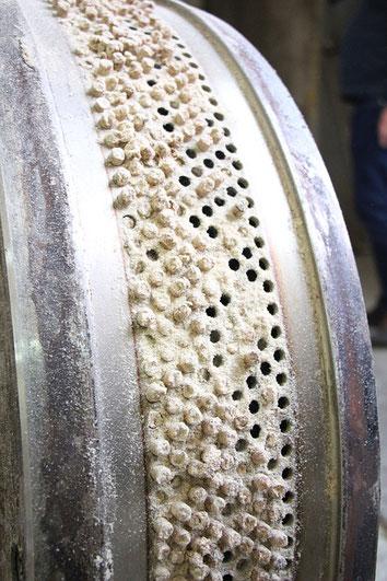 Pellets Granulate CMC Carboxymethylcellulose Niklacell Filmbildner Verdicker verbesserte Abriebsfestigkeit reduziertes Stauben