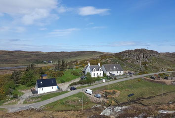 North Coast 500 Map Bed and Breakfast Highlands of Scotland