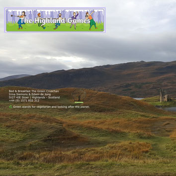 Assynt Highland Games NC500 - Bed and Breakfast Highlands of Scotland