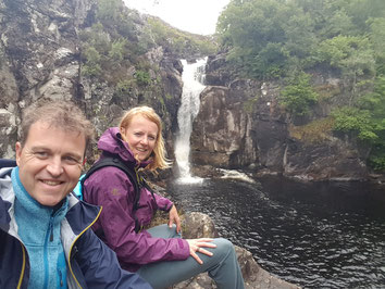 Clashnessie Waterfall NC500 - Bed and Breakfast Highlands of Scotland