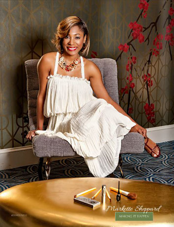 Markette Sheppard, Messenger Beauty, Natural Cosmetics